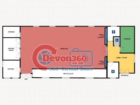 2D floorplan for covid access Devon 360