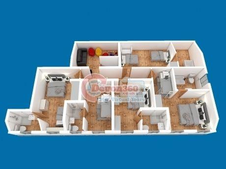 3D property floorplan Devon 360
