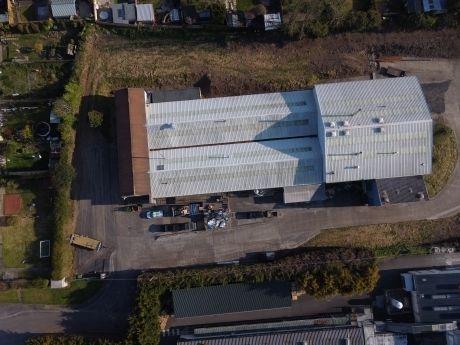 Factory roof inspection Devon 360