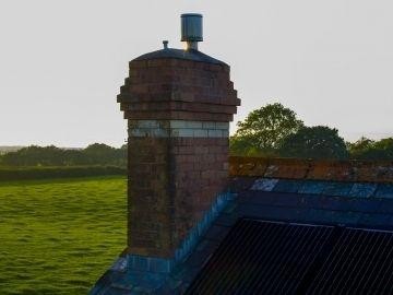 Roof chimney and solar panel inspection Devon 360